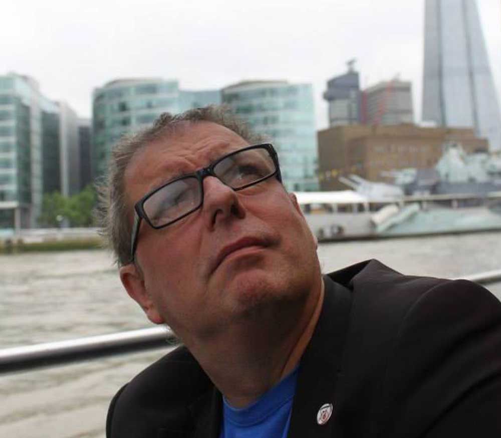 CareAcross-Doug-male-breast-cancer-patient-on-the-Thames-chilling-in-2015
