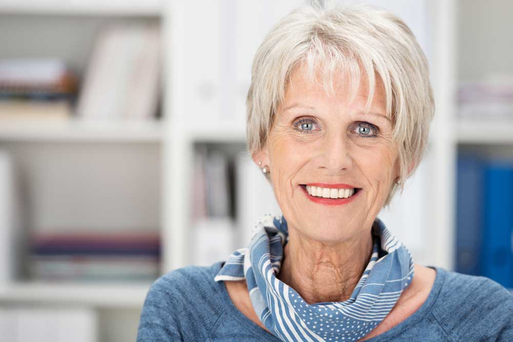 CareAcross-breast-cancer-radiation-cosmetic-outcomes-senior-woman-smiling