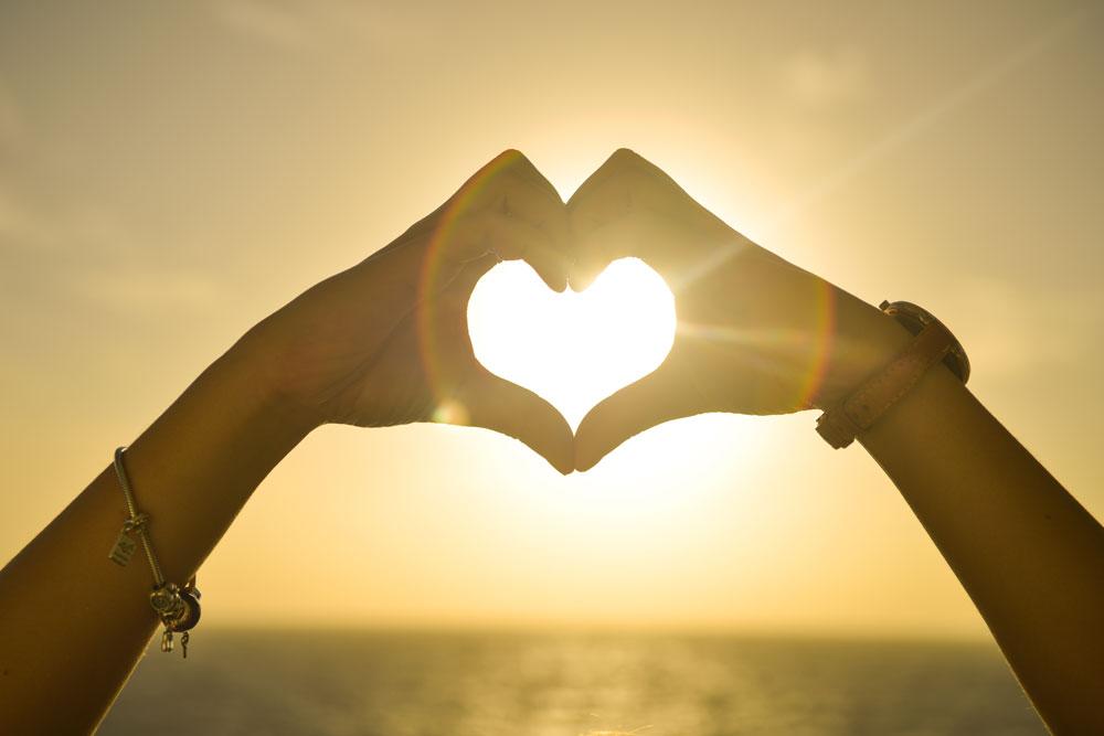 CareAcross-skin cancer-myths-sunset-sun-heart